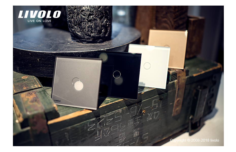 Livolo luxury Wall Touch Sensor Switch 46
