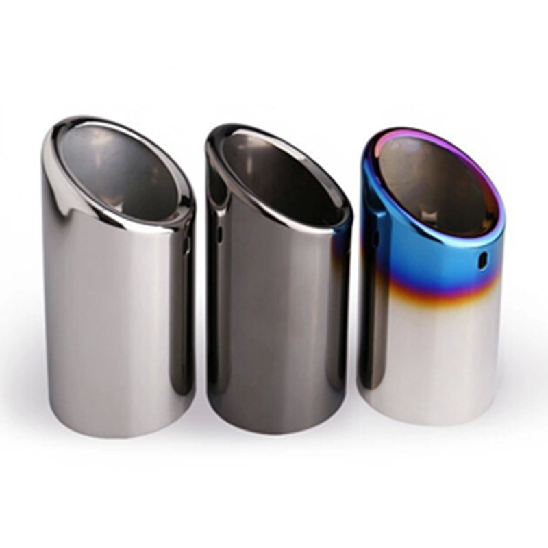 For Skoda Octavia A5 A7 Superb Yeti 1 4T 1 6T 1pcs High quality Stainless steel Car Automobiles exhaust pipe cover muffler pipe