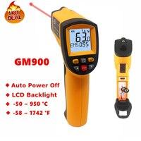 GM900 GS320 GM320 Digital Infrared Thermometer IR Laster Temperature Meter Non contact LCD Gun Style Handheld Pyrometer