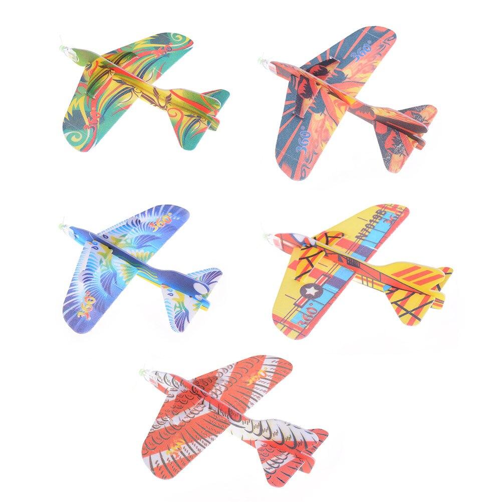 2017 12pcs Diy Hand Throw Flying Glider Planes Foam: Hand Throw Flying Glider Planes Foam Aeroplane Model Party