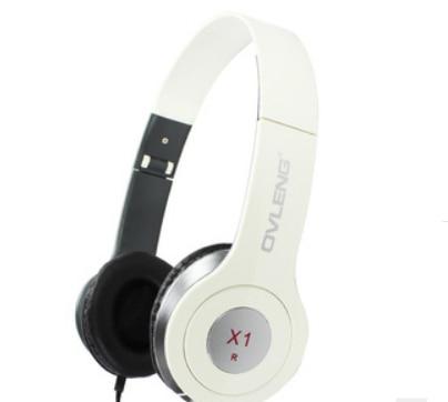 Nova OVLENG X1 3.5 mm Hi Fi Surround Speakers jogo Stereo Headset baixo fone de ouvido com microfone