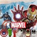 The Avengers iron man usb flash drive 4G 8G pen drive 16G Hulk Thor Capitán América 32G usb stick pendrive martillo U disco