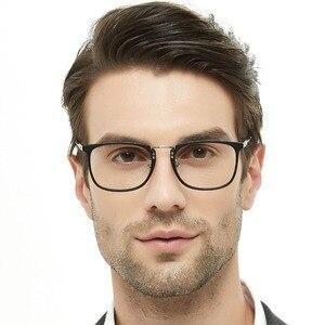 Image 2 - Korean Fashion Eye Glasses Frame Clear Lens Optical Eyeglasses Black Blue Eyewear Frames Spectacle for Men OCCI CHIARI OC2002