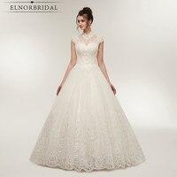 Vintage Lace Tulle Ball Gown Wedding Dresses 2018 Real Photos High Neck Sheer Vestidos de Noiva Online Shop Bridal Gowns