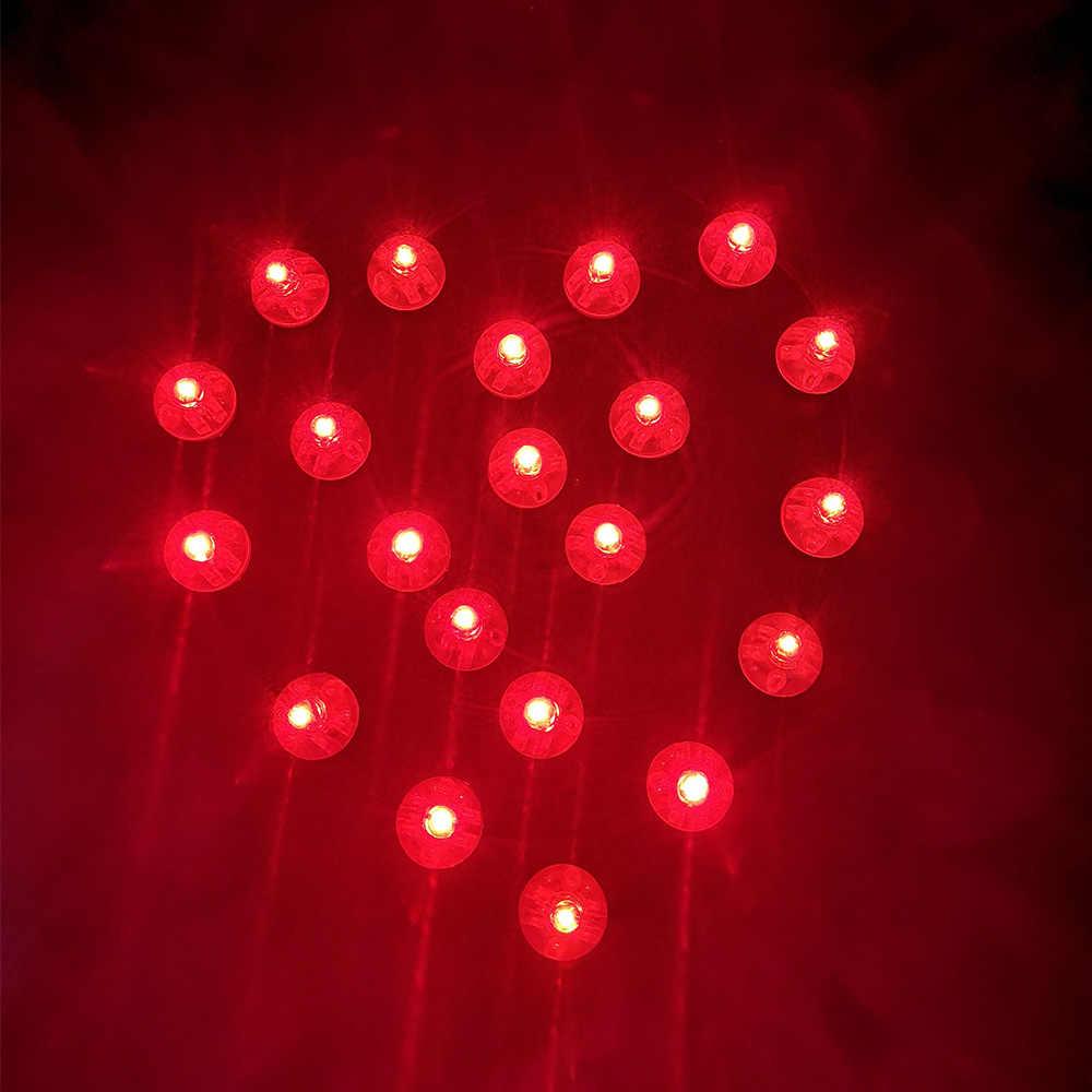 10 cái Vòng Mini Led RGB Đèn Flash Bóng Sáng Bóng Đèn Đặt trong giấy Đèn Lồng Bóng Đèn Cho Giáng Sinh halloween Party trang trí