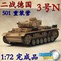 1: 72 Segunda Guerra Mundial Alemanha N °. três No. 3 modelo de tanque modelo N 60601 Veyron Tunísia terminou