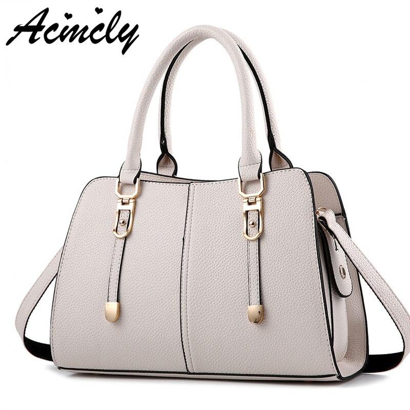 Good Quality Women Bag 2018 Female Women Handbags Luxury Tote Female Medium Women Shoulder Bags Casual Women Bags A605/o zipit сумка medium shoulder bag