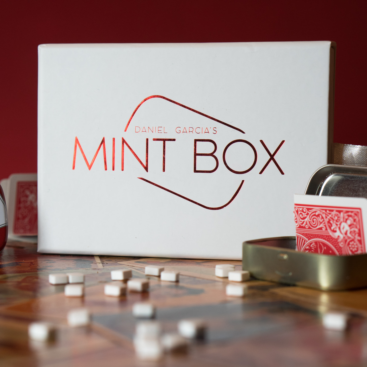 Mint Box By Daniel Garcia,Magic Tricks