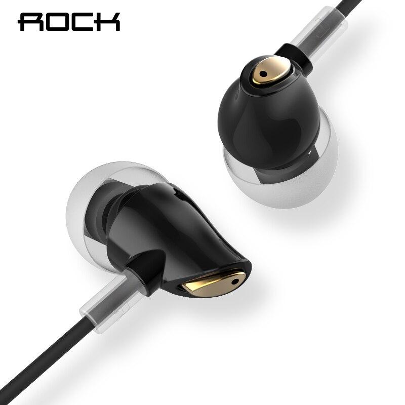 Rock In-ohr Zirkon Stereo Kopfhörer 3,5mm AUX Headset Mit Mic Ausgewogene Immersive Bass Kopfhörer für iPhone Sumsung Xiaomi