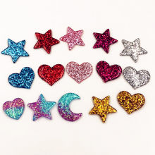 1Pcs Cute Moon Love Stars Resin Flat Back Cabochons For DIY Phone Case Scrapbooking Art Supply Decoration Charm Craft(China)
