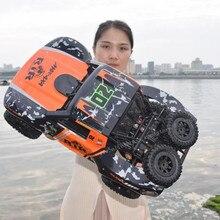Rc-car-1: 10 rc автомобиль 48 см большой внедорожный Водонепроницаемый rc автомобиль работает на суше и воде 1/10 игрушечные машинки rc для детей