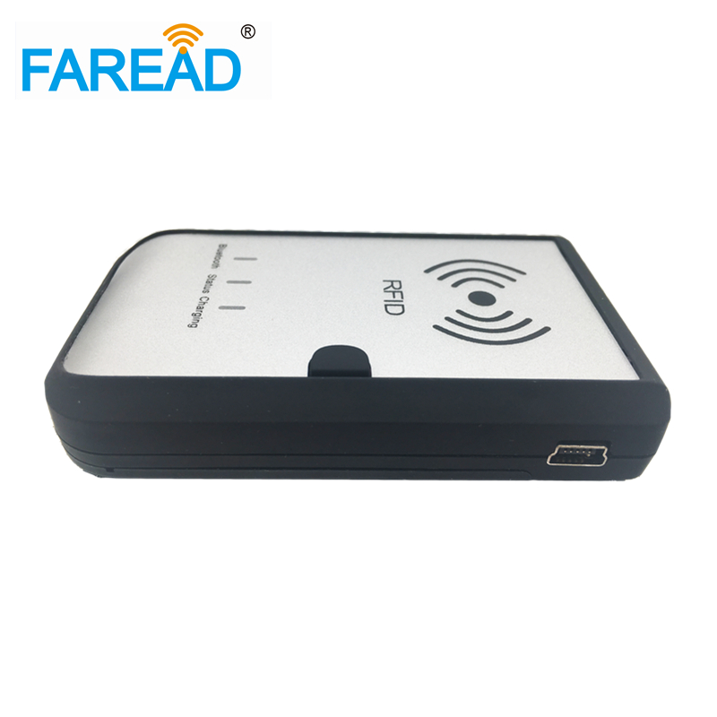 Bluetooth 13.56MHz HF ISO18092 Ntag213/216 NFC RFID Reader For E-wallet, E-commerce
