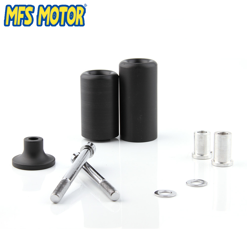 Motorcycle parts Crash Protector Frame Slider for Kawasaki 2005 2006 Ninja ZX-6R ZX6R Black
