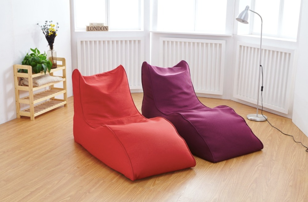 Modern Linen Bean Bag Sofa Living Room Chair Leisure