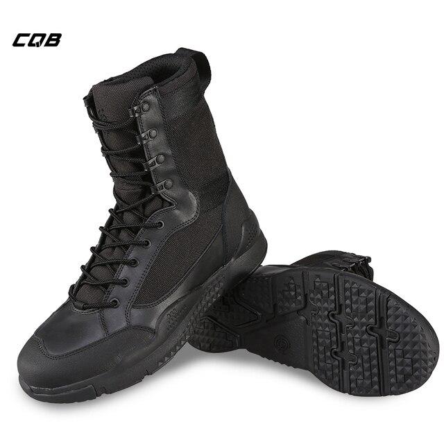 Cqb Outdoor Sport Tactical Hiking Boots Men S High Lightweight