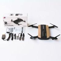 JXD 523 Mini Foldable Pocket Drone VS JJRC H37 Phone FPV WIFI Control HD Camera Airpressure