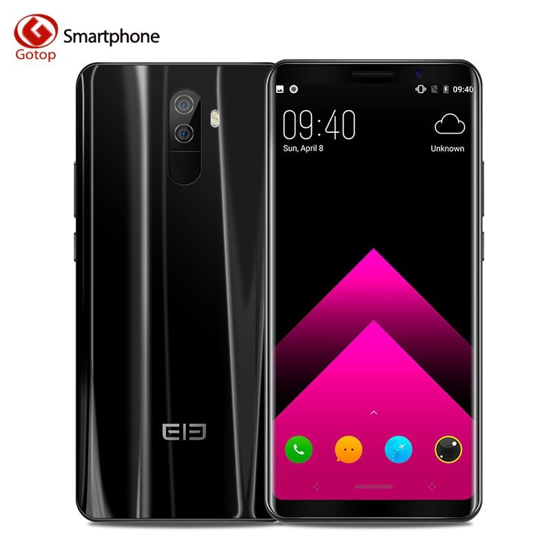 Elephone U Pro Téléphone portable 5.99 pouce Android 8.0 Qualcomm Snapdragon 660 6 gb RAM 128 gb ROM 13MP Double rearCam 4g LTE mobile Téléphone