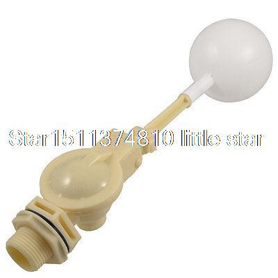 1 PT Thread Water Sensor Float Plastic Float Valve Floating Ball 1 pt thread water sensor float plastic float valve floating ball
