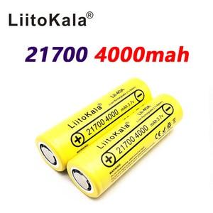 Image 2 - LiitoKala Lii 40A 21700 4000mah Li Ni סוללה 3.7V 40A 3.7V 30A כוח 5C קצב פריקה