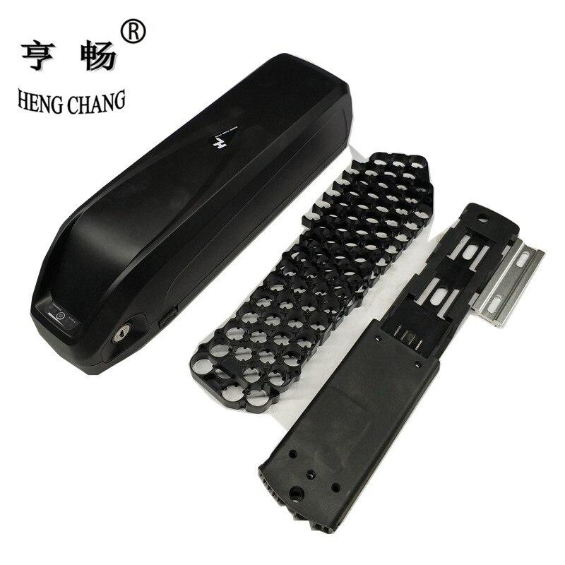 48 в 36 В hailong пластиковый корпус с держателем велосипед батарея DIY коробка с USB 5 в может держать 65 шт. 18650
