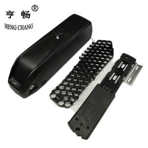 Image 1 - 48V 36V hailong plastic case with holder bike battery DIY box with USB 5V can hold 65pcs 18650