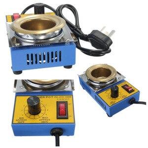 Image 5 - Temperature Controlled  Solder Pot Soldering Desoldering Bath Tin Melting Plate Tin Cans 50mm 220V 150W
