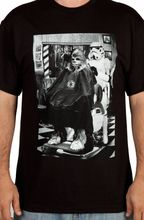 Мужчины Женщины майка Star Wars Штурмовик Чубакка Парикмахерская Фото футболка Дизайн Одежды Печати Мужчины Хлопок Тройник