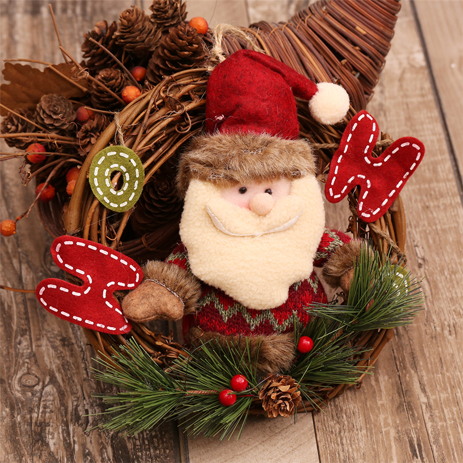 1pcs Natural Wood Christmas Decorations Garland Cheap ...