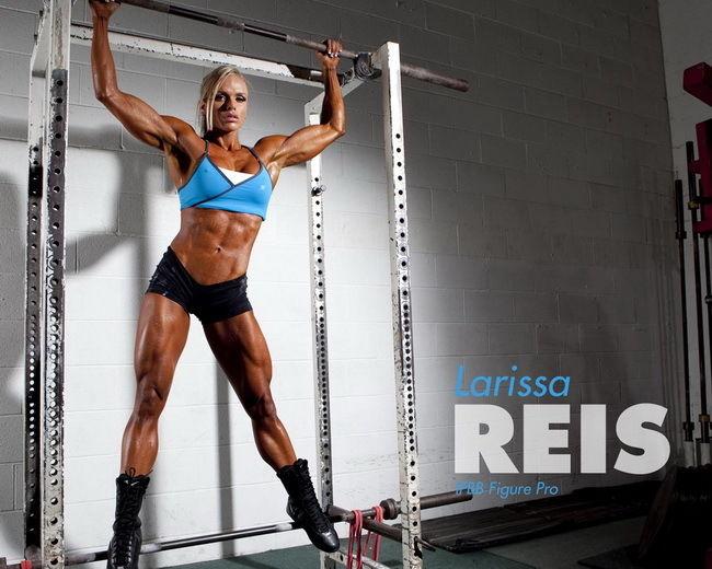 010 Лариса Reis-культурист Фитнес модель 30 x 24 Афиша