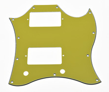 KAISH Standard Spec SG Full Face Pickguard Orange (Yellow,Purple,Blue,Green,Pink Red)3 Ply for SG SPECIAL Guitar