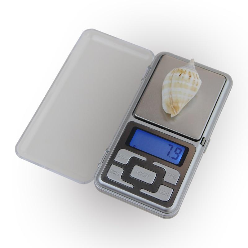 200g x 0,01 g Mini precyzyjne wagi cyfrowe do biżuterii srebrnej w - Przyrządy pomiarowe - Zdjęcie 2