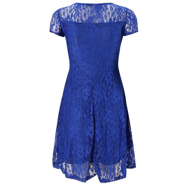 Women's Vintage Lace Mini Dress (5 Colors)