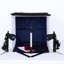 4 Цвет мини Портативный фотостудия/Палатка/комплект освещения сумка