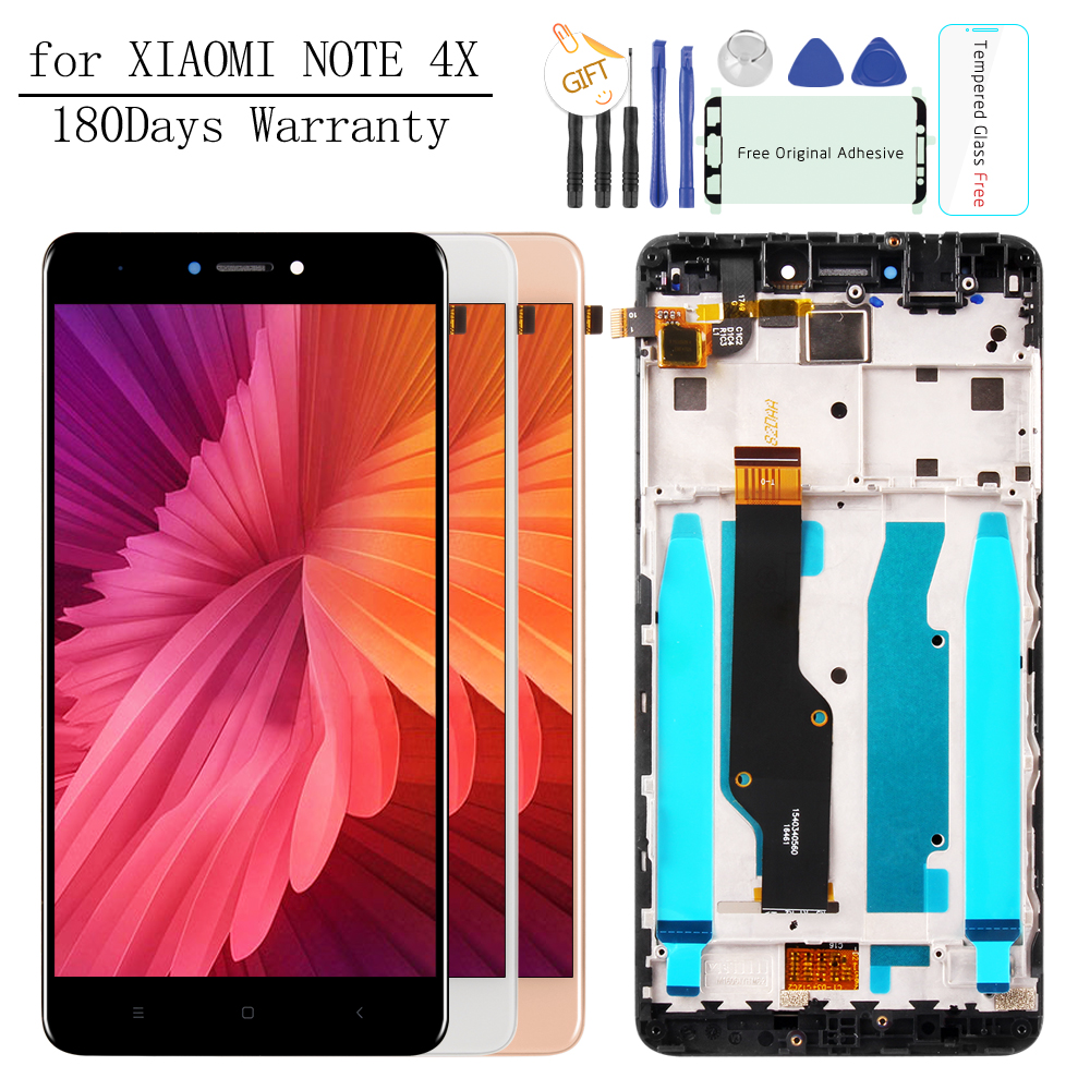 Tested 5.5 For XIAOMI Redmi Note 4X LCD Display Touch Screen Digitizer Replacement NOTE 4X LCD for Snapdragon 625