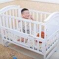 Многофункциональный дерево кроватки детские кровати шейкер переменная стол нет краска континентальный белая сосна с рольганга bb