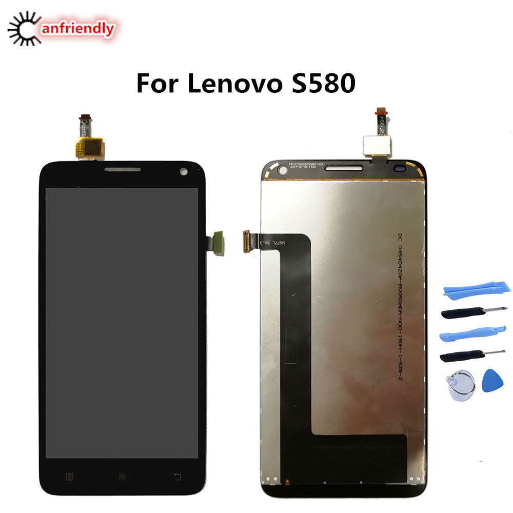 For Lenovo S580 S 580 LCD Display+Touch Screen Replacment Digitizer Assembly Phone Glass Repair Parts For Lenovo S580 lcds newFor Lenovo S580 S 580 LCD Display+Touch Screen Replacment Digitizer Assembly Phone Glass Repair Parts For Lenovo S580 lcds new