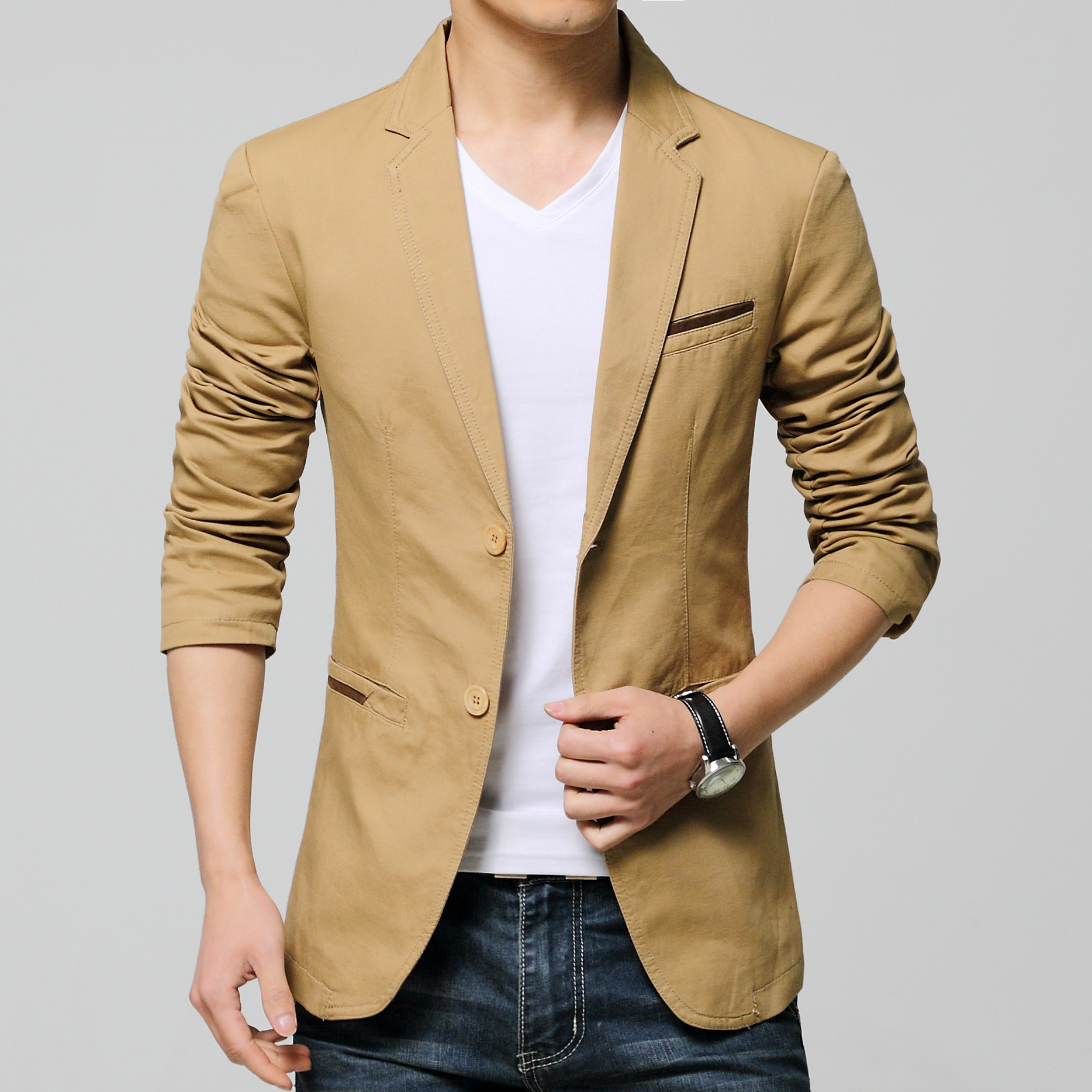 Mens Stage Wear New Arrival Spring Fashion Stylish Slim ...