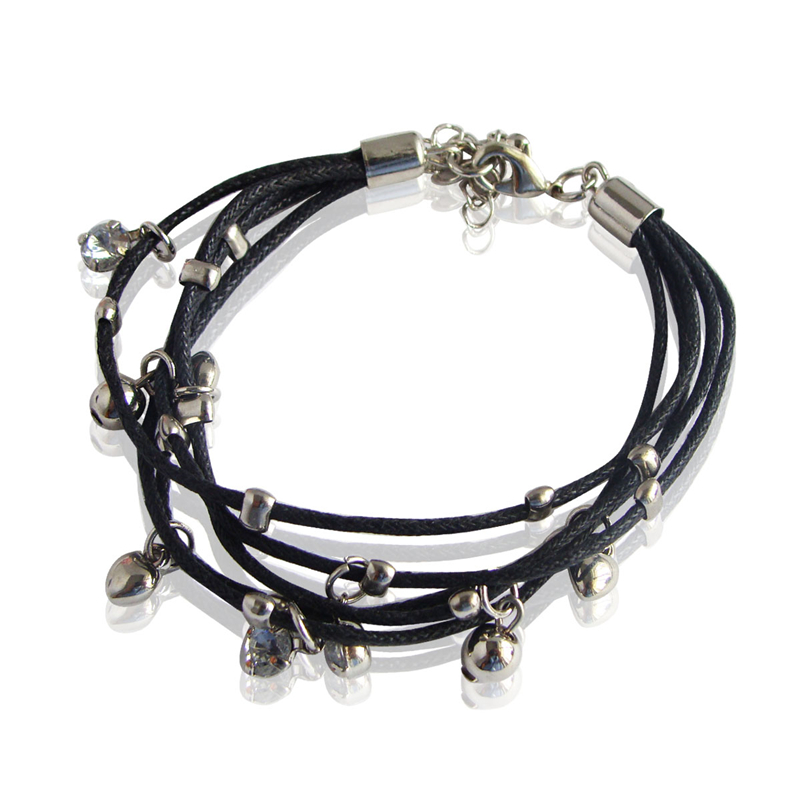 Special store summer multi layer charm leather rope chain bracelet jewelry