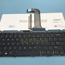 Оригинальная новая английская клавиатура для Dell Xps 15 L502x XPS15 L502X ноутбук английская клавиатура с подсветкой