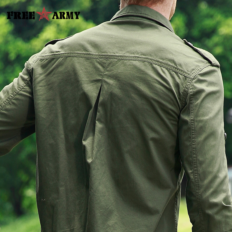 ARMY High Quality Basic Shirts  5