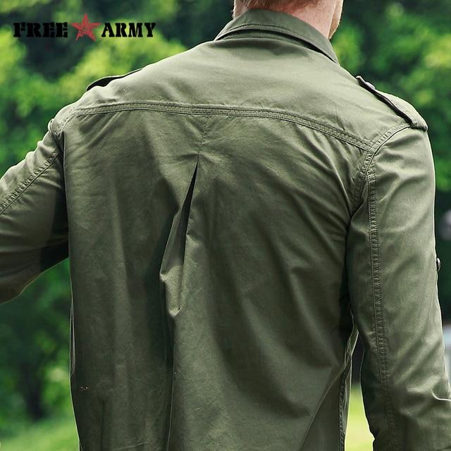 ARMY High Quality Basic Shirts  5