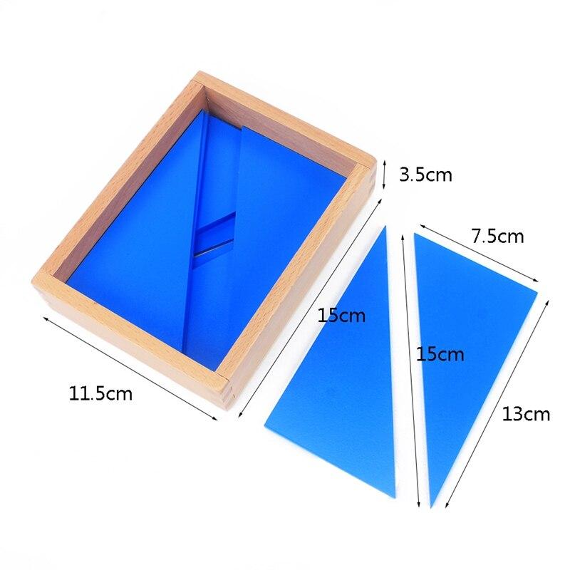 triangulos azuis do bebe brinquedo para preschool 05