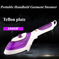 Portable Handheld Garment Steamer For Home Travelling Electric Clothes Steam Brush Cleaning Steam Iron 220V Teflon plate
