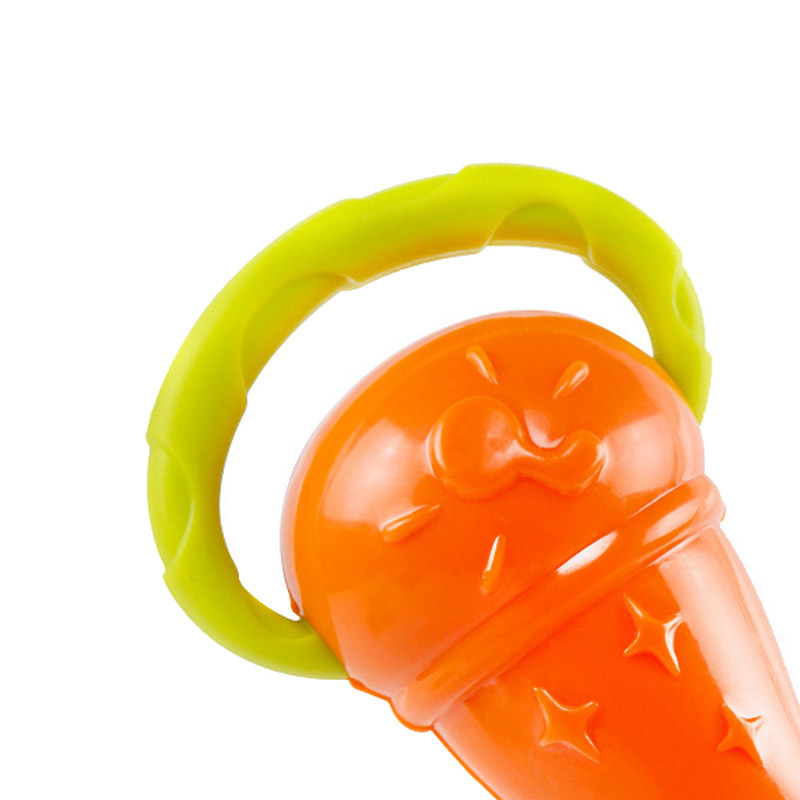 0 2 Years Baby Rattles Toy Teether Soft Plastic Funny Hand Bell Rattle Kids Birthday Gift YJS Dropship in Baby Rattles Mobiles from Toys Hobbies