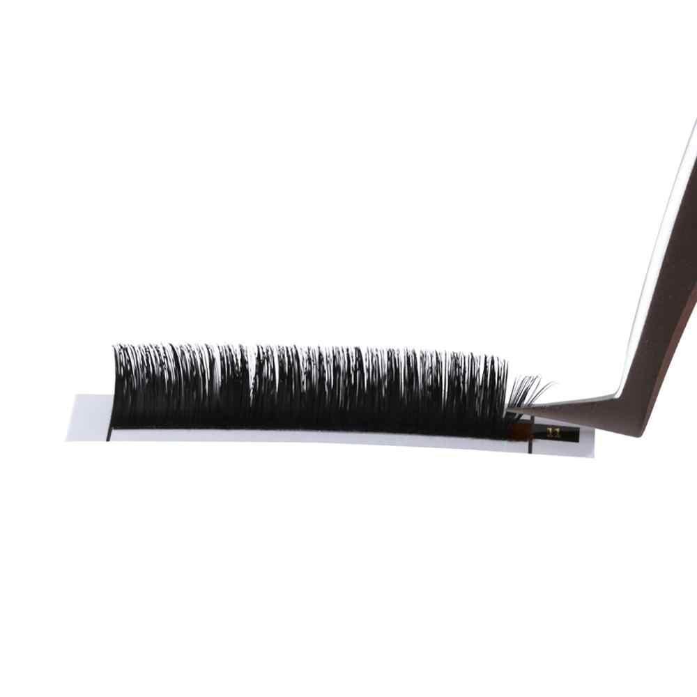 Объемный Пинцет для ресниц Золотое перо и Дельфин Пинцет для инструментов для наращивания ресниц в коричневой кожаной упаковке