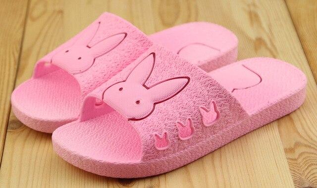 2016 лето новое поступление кролик персонажа дети мальчик / девочка сандалии, Skidproof ребенок пляжу тапочки для дома и пляж