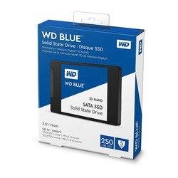 Western Digital azul 3D NAND SSD de 1 TB 250 GB 500 GB SATA III unidades de estado sólido WD 2,5 disco Duro SSD de pulgadas para ordenador portátil