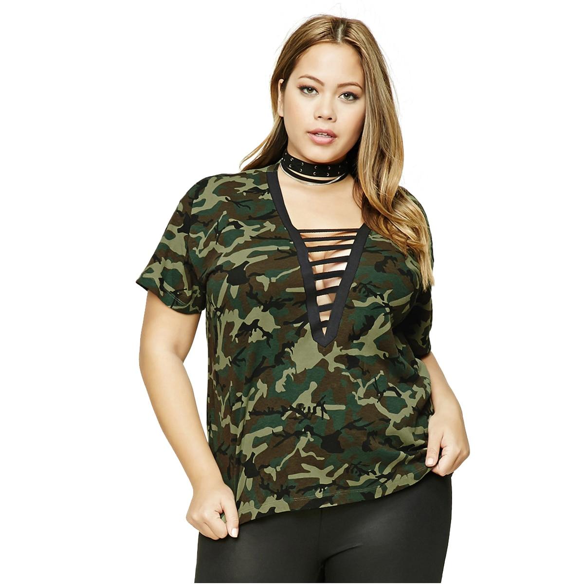 2017 Big Size New Fashion font b Women b font font b Clothing b font Sexy online get cheap womens camouflage clothing aliexpress com,7xl Womens Clothing