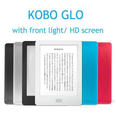 Liseuse eBook 6 pouces Kobo Glo N613 avec écran tactile avant e-Book e-ink 2 GB lecteur de livre WIFI