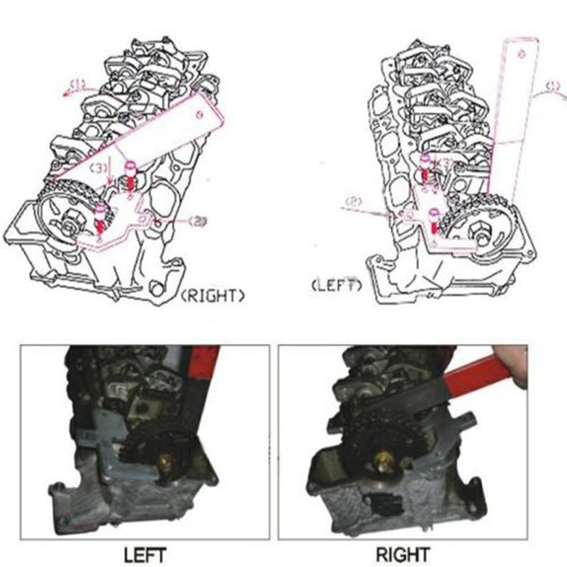 Mercedes M112//M113 CLK320//CLK500//E55 Camshaft Alignment Holding Locking Tool